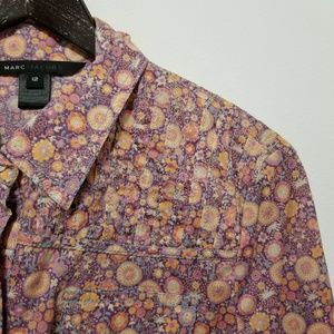 Marc By Marc Jacobs floral button down NWOT